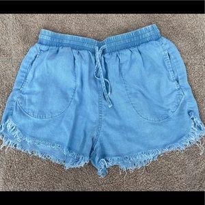 Forever 21 shorts with fringe